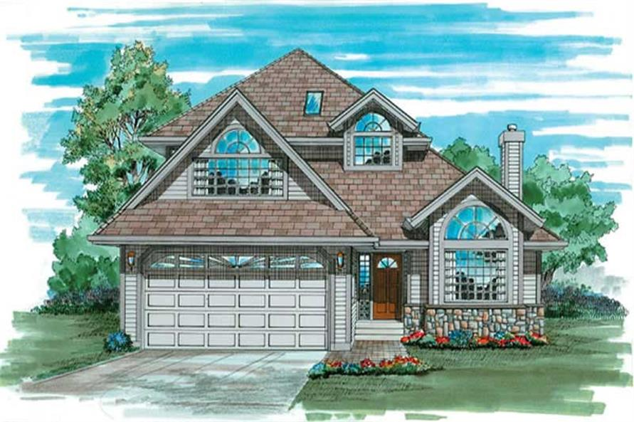 Main image for house plan # 6863