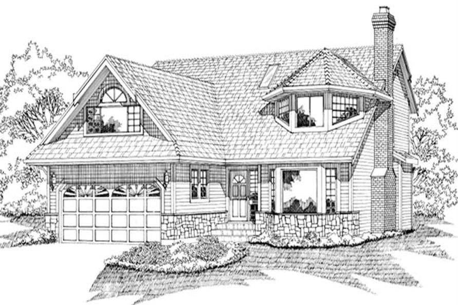 Main image for house plan # 6862