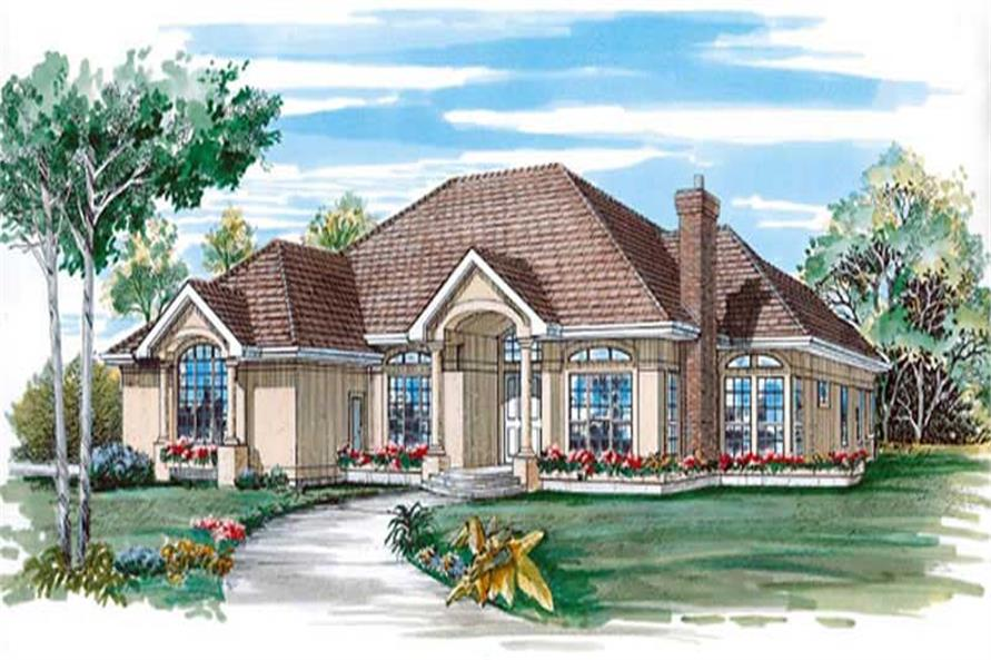 Main image for house plan # 7216