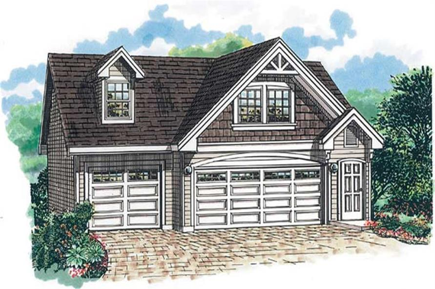 Main image for house plan # 7398