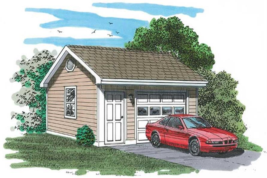 Main image for house plan # 7382
