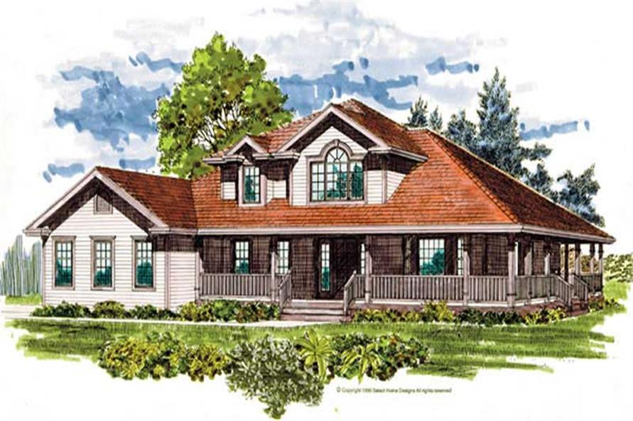 Main image for house plan # 7364