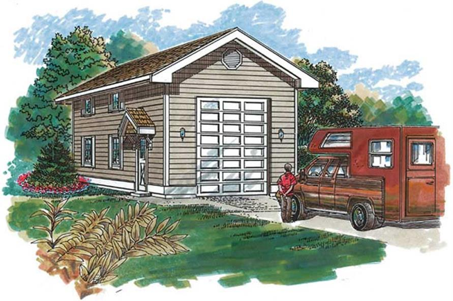 Main image for house plan # 7386