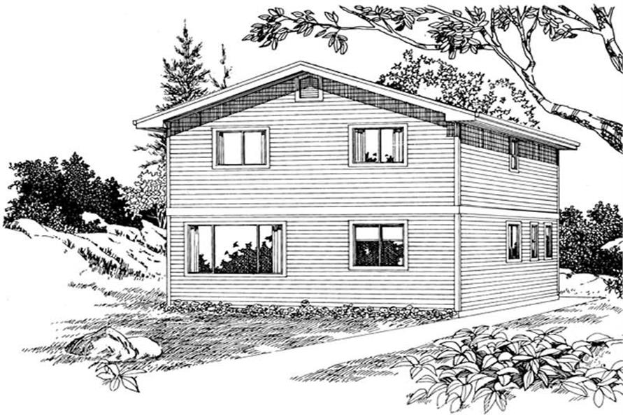 Main image for house plan # 7430