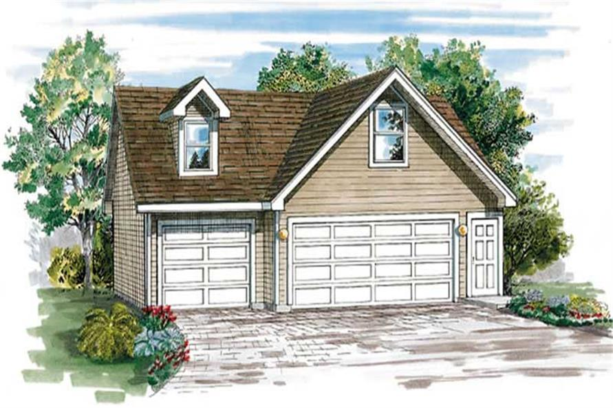 Main image for house plan # 7396