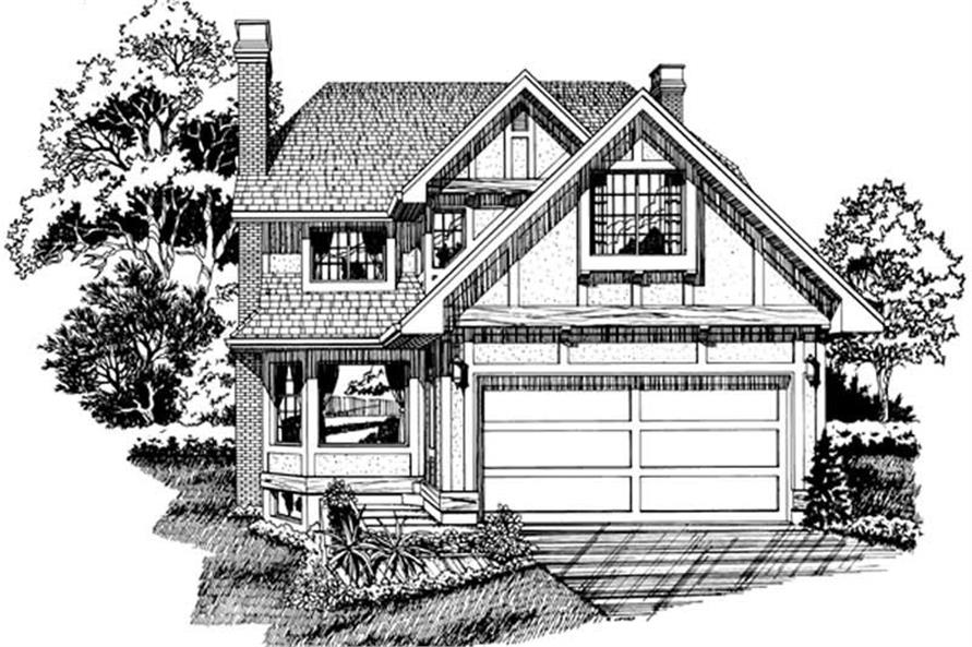Main image for house plan # 7345