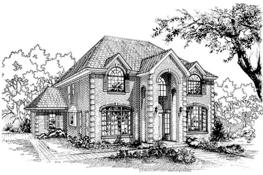 Main image for house plan # 7441