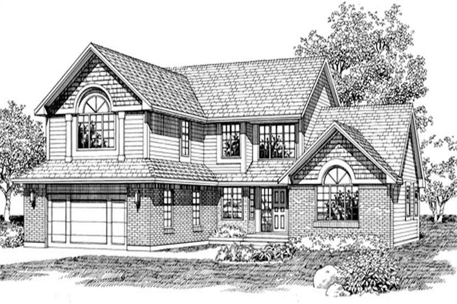 Main image for house plan # 7440