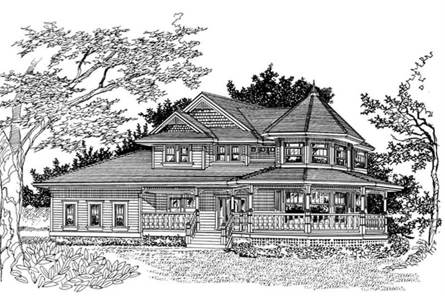 Main image for house plan # 7425