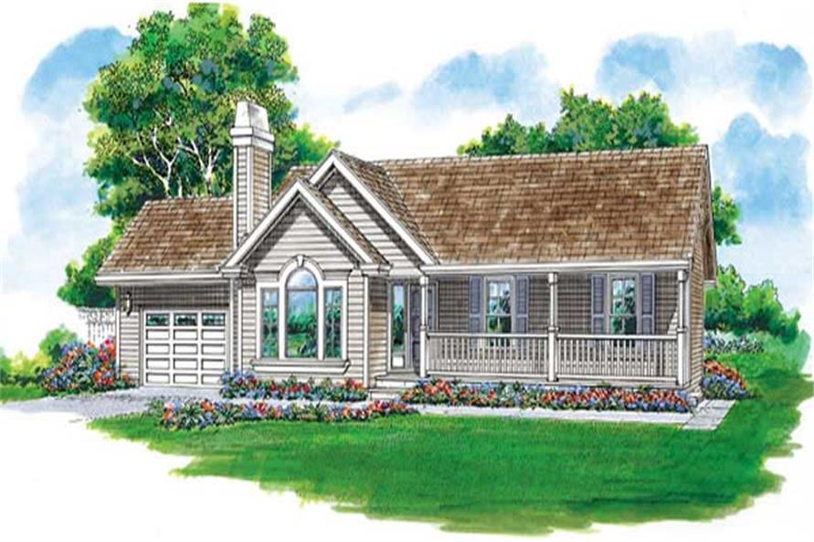 Main image for house plan # 7247