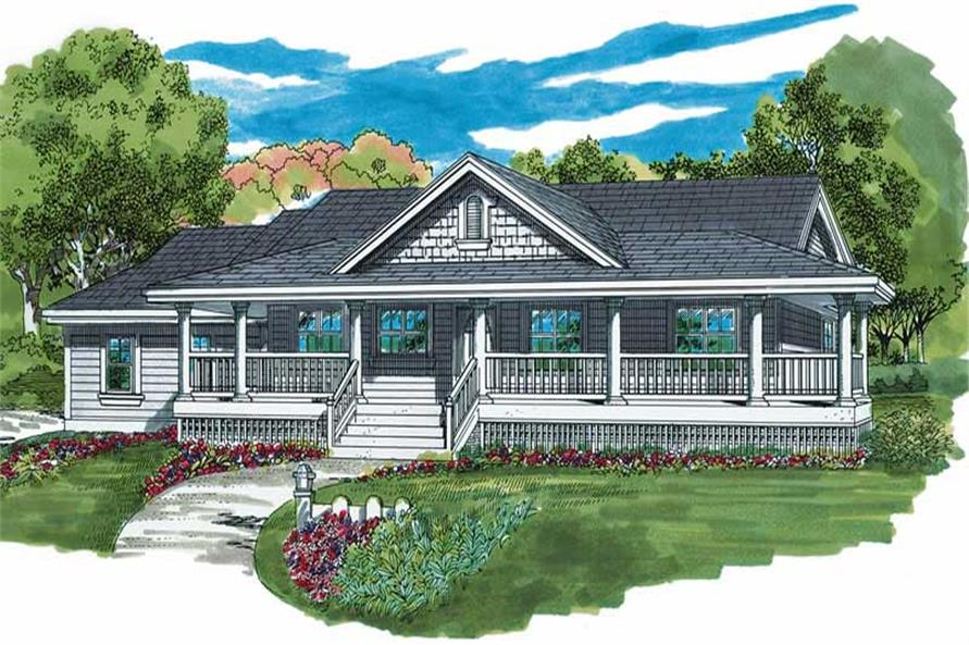 Main image for house plan # 7249