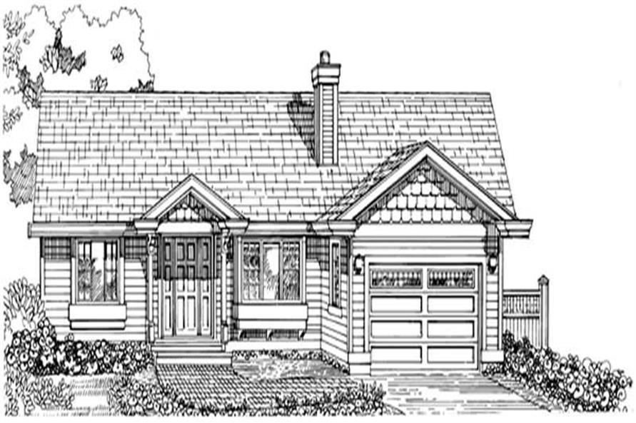 Main image for house plan # 7224