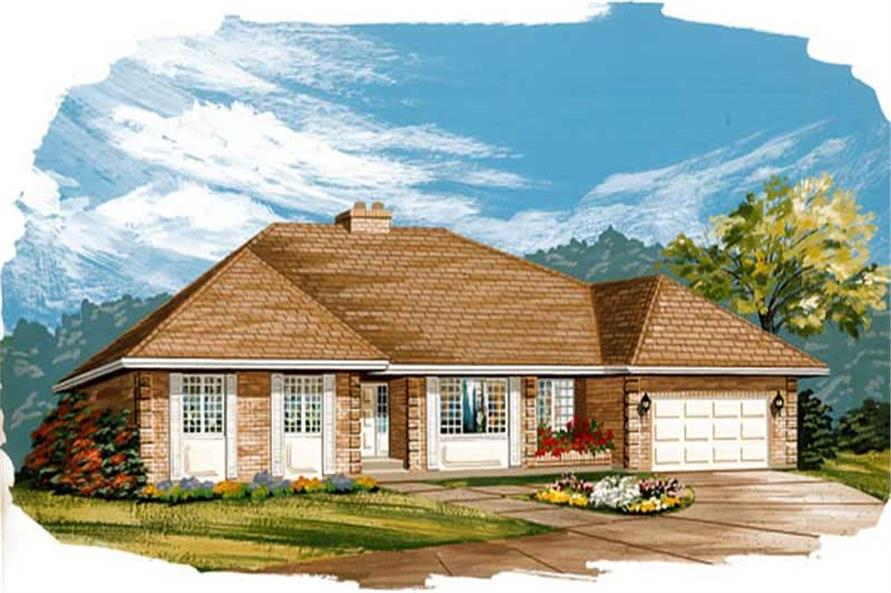 Main image for house plan # 7342