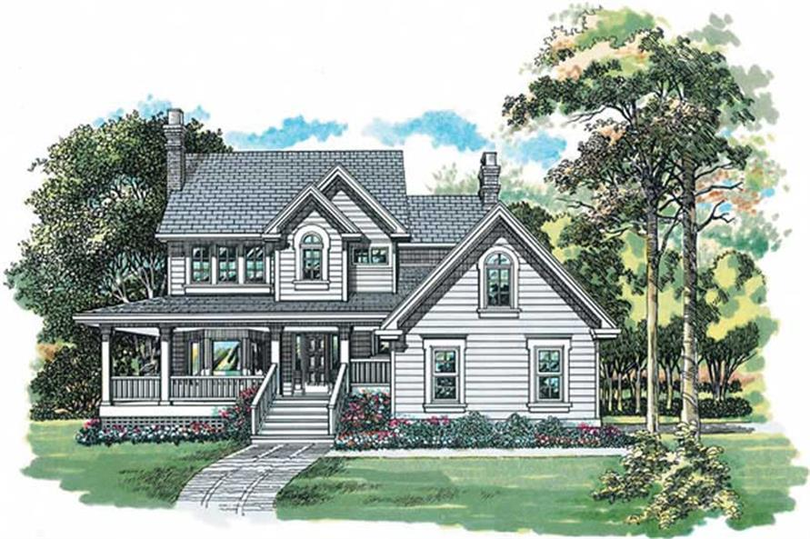 Main image for house plan # 7303