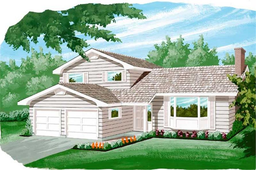 Main image for house plan # 7316
