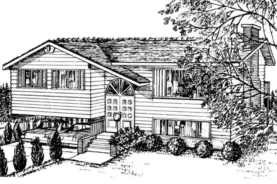 Main image for house plan # 7313