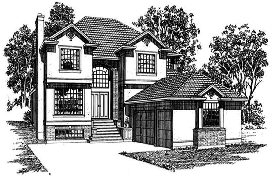 Main image for house plan # 7428