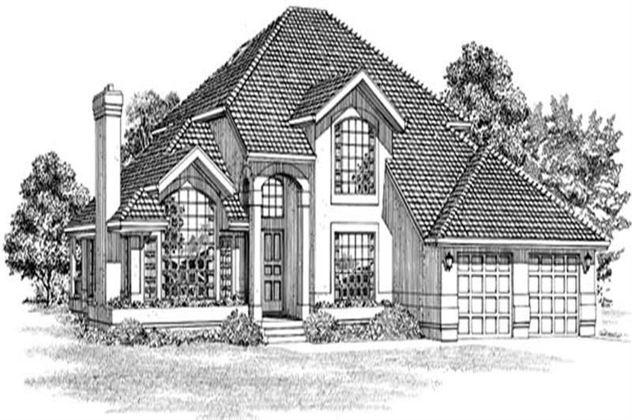 Main image for house plan # 7415