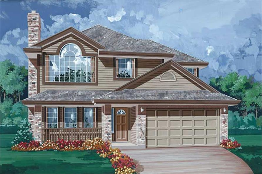 Main image for house plan # 6843