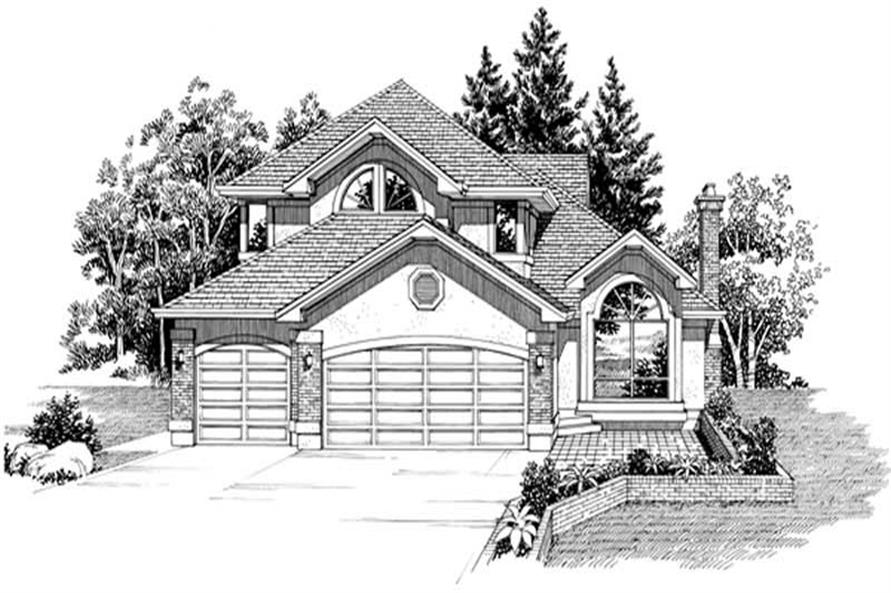 Main image for house plan # 7442