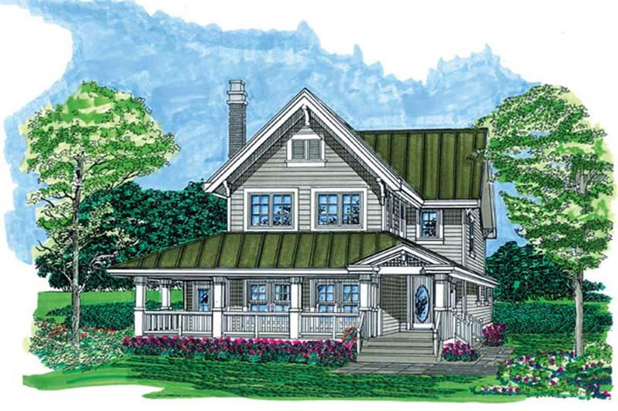 Main image for house plan # 7420