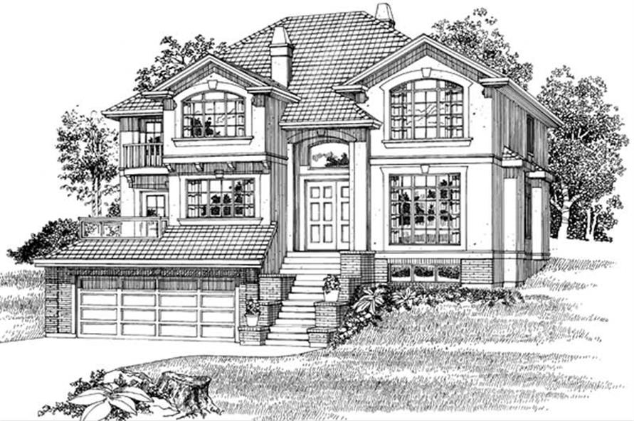 Main image for house plan # 7427