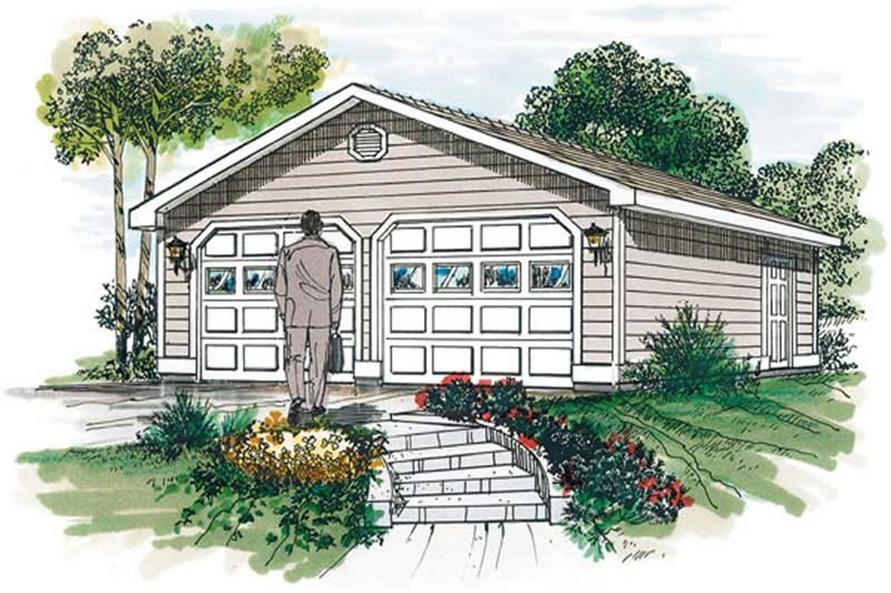 Main image for house plan # 7377