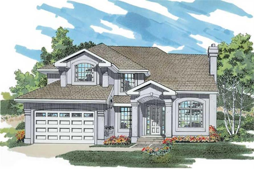 Main image for house plan # 7416