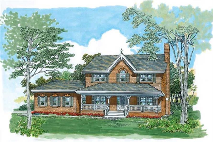Main image for house plan # 7423