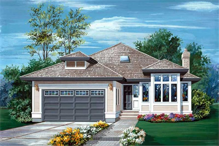 Main image for house plan # 6846