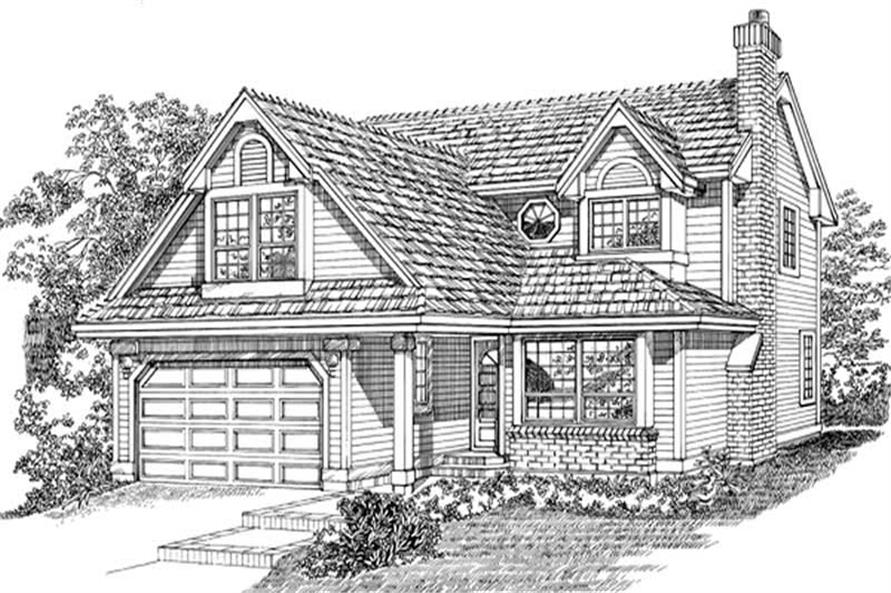 Main image for house plan # 6833
