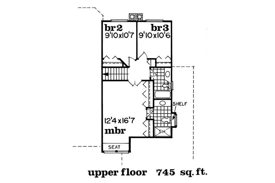 Upper Level Floor Plan