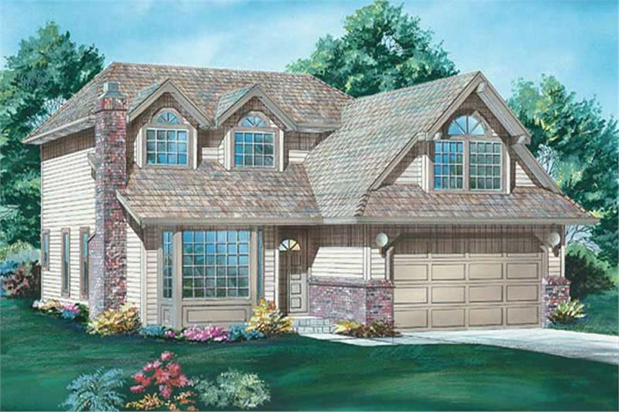Main image for house plan # 6823