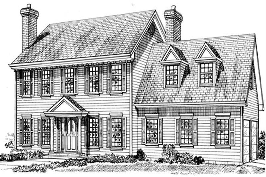 Main image for house plan # 7196
