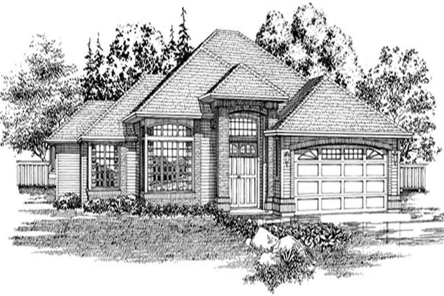 Main image for house plan # 6882