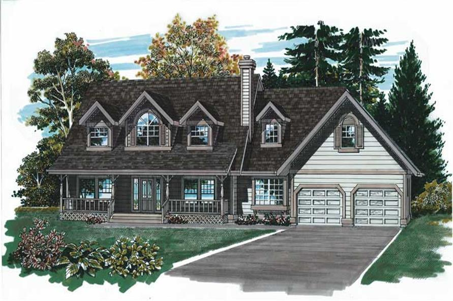 Main image for house plan # 7185
