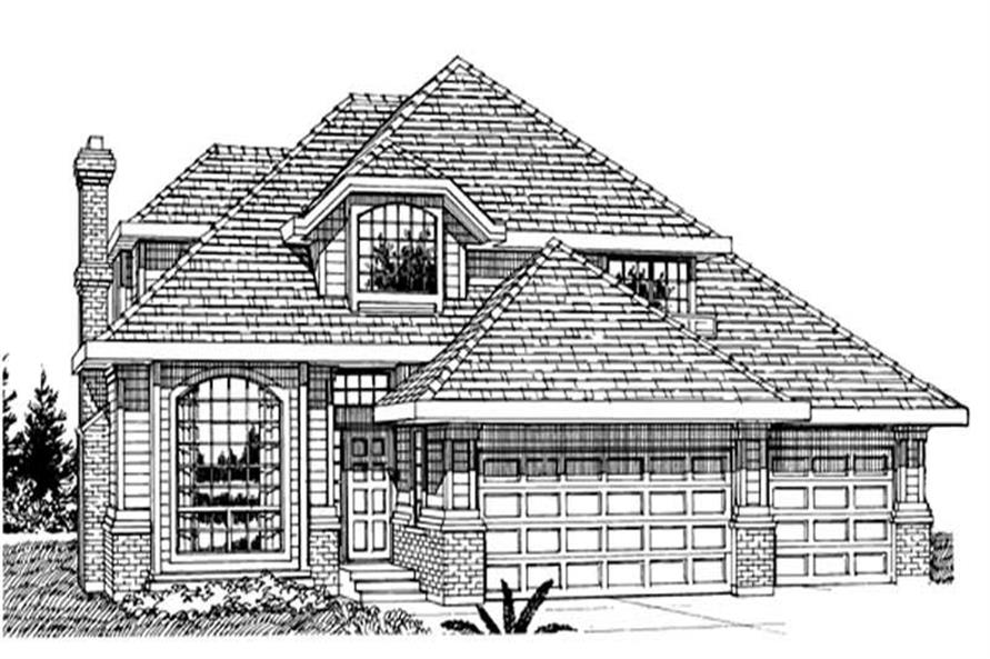 Main image for house plan # 7189