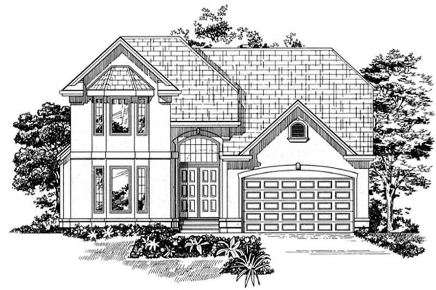 Main image for house plan # 7447