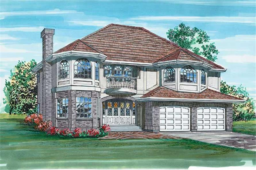 Main image for house plan # 6873
