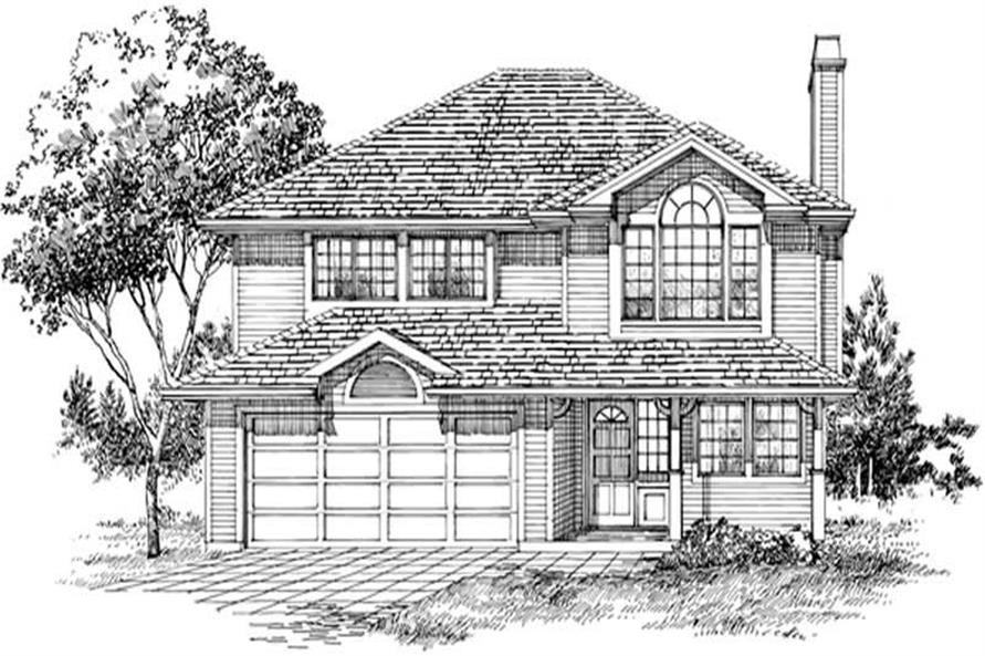 Main image for house plan # 6865