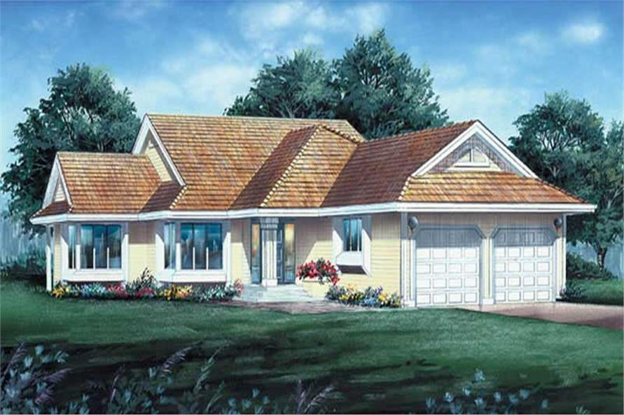 Main image for house plan # 6858