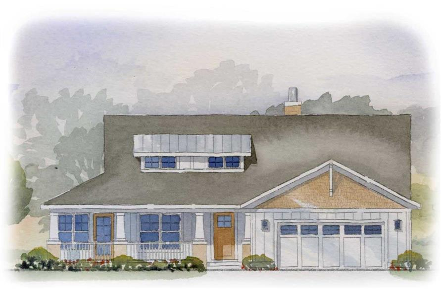 This image is a colored rendering of these traditional homeplans.