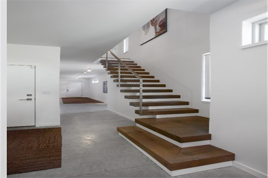 168-1102 house plan stair case