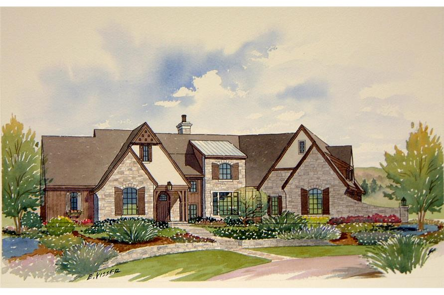 168-1104: Home Plan Rendering