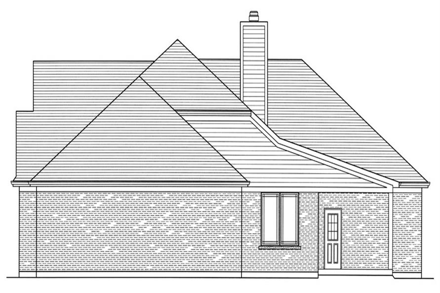 169-1066: Home Plan Right Elevation