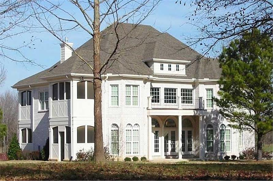 Main image for southern house plans # 20483