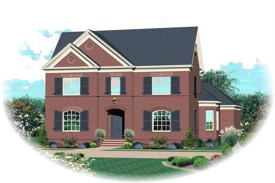 Main image for house plan # 20398