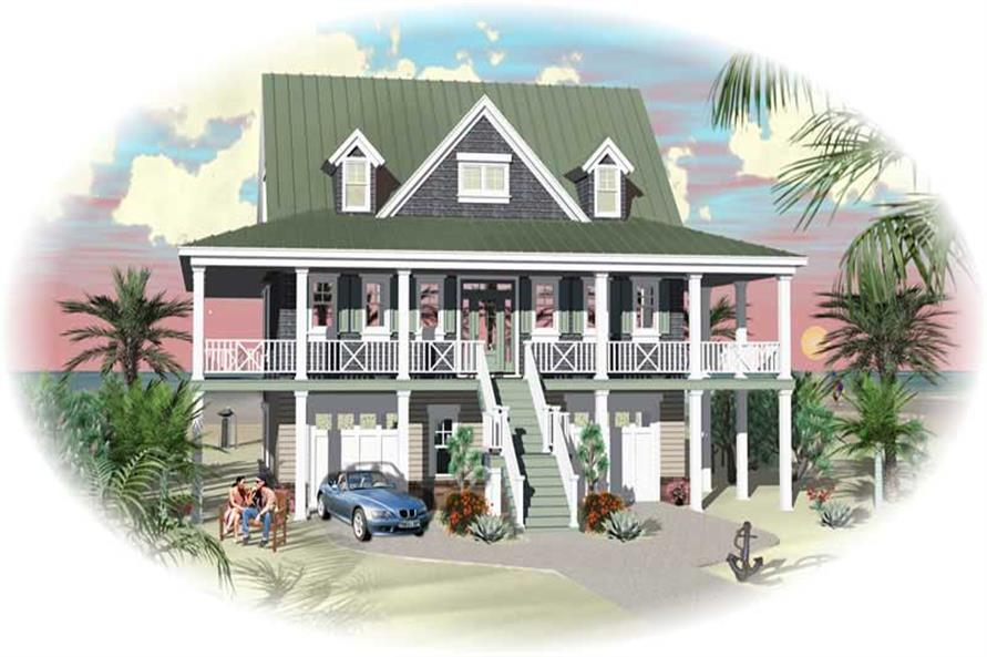 Main image for house plan # 18724