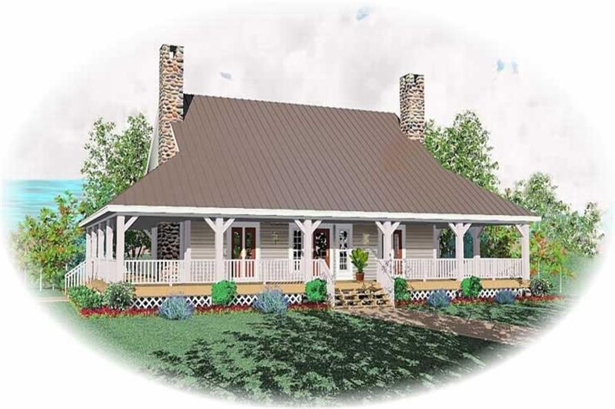 Main image for house plan # 10452
