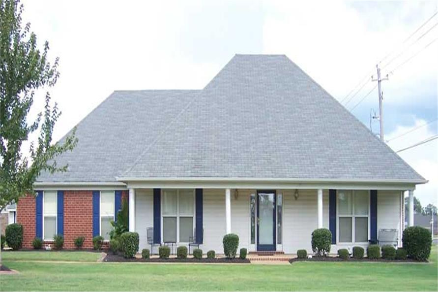 Main image for house plan # 19972